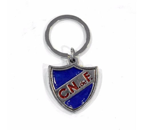 llavero metal club nacional de football | rincón del hincha