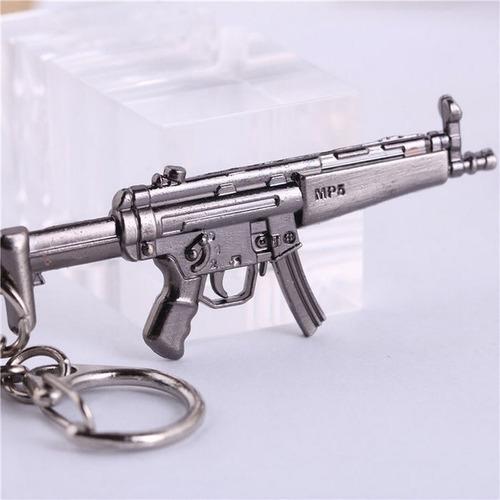 llavero metálico armas a escala fusil mp5 hk ametralladora