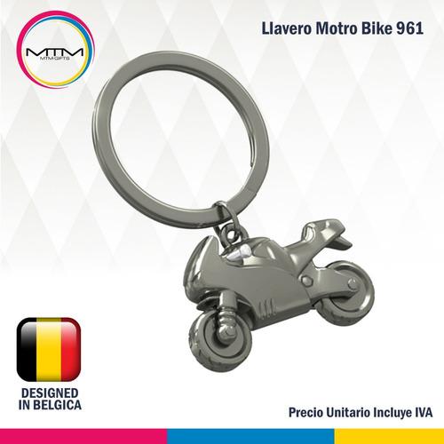 llavero moto bike silver metalmorphose mtm 961 - banimported