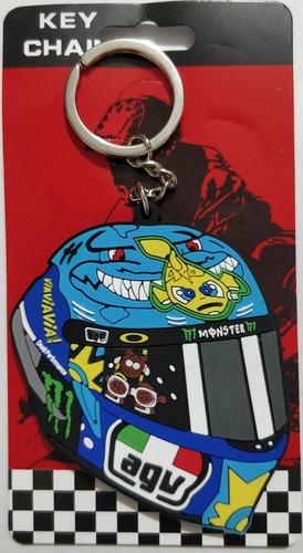 llavero moto casco viavia key chain motogp valentino rossi