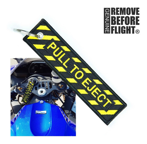 llavero motociclismo ® mod. pull to eject