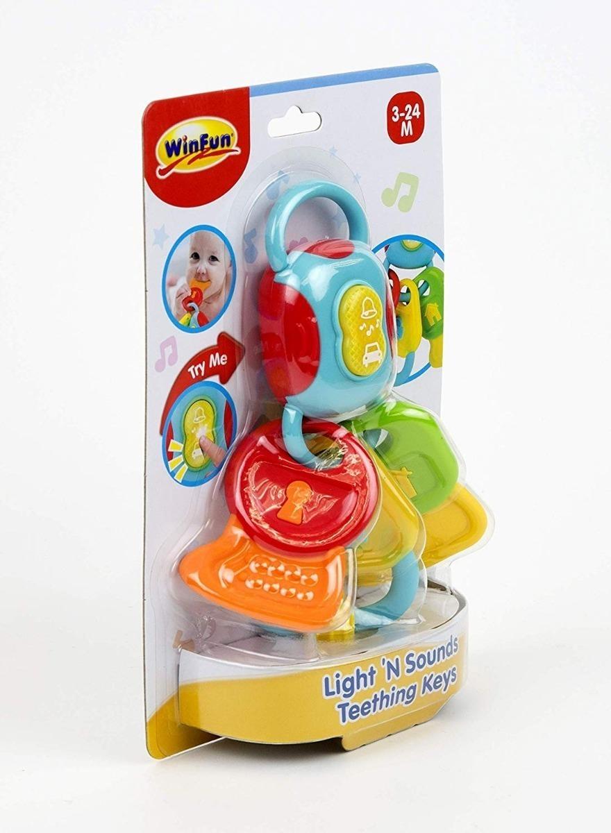 Light N Sound Teething Keys