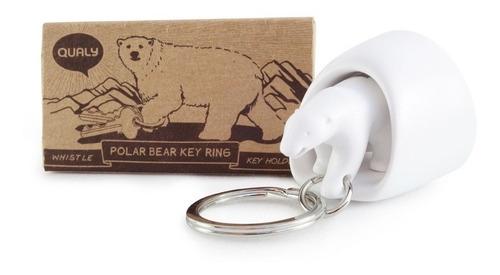 llavero oso polar
