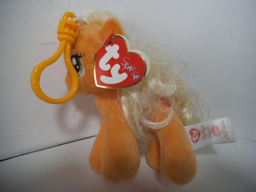 llavero peluche apple jack mi pequeño pony ty
