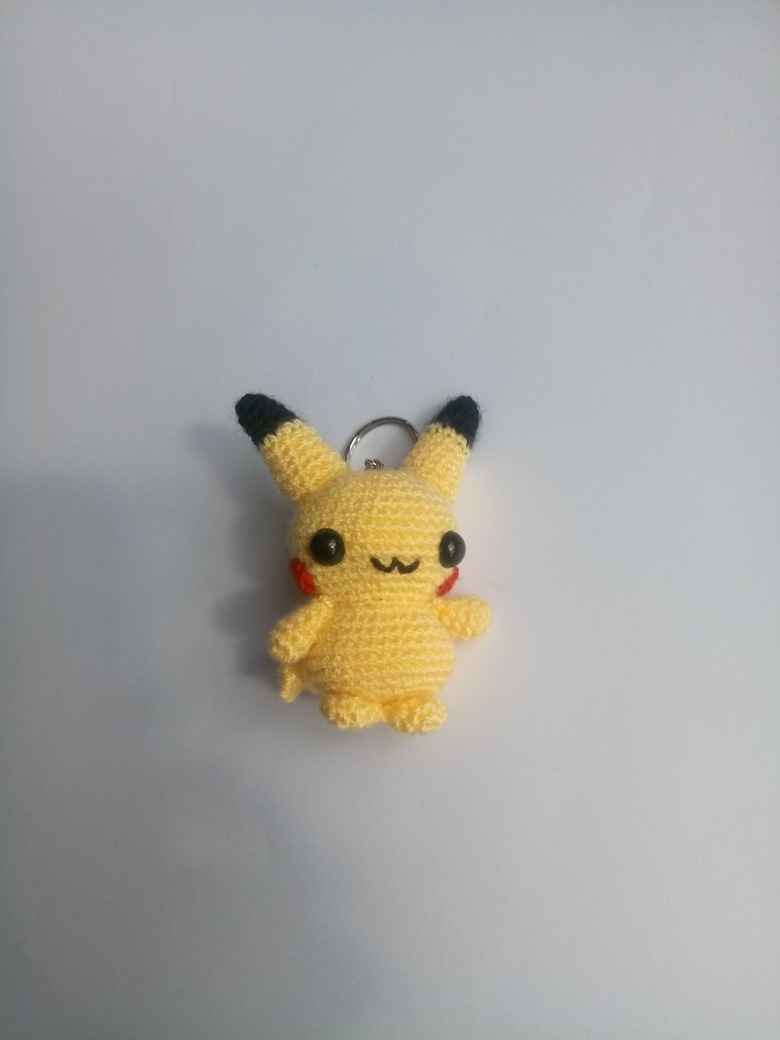 Amigurumi - Pikachu for CrochetGO! PokemonGo | Pikachu crochet ... | 1040x780