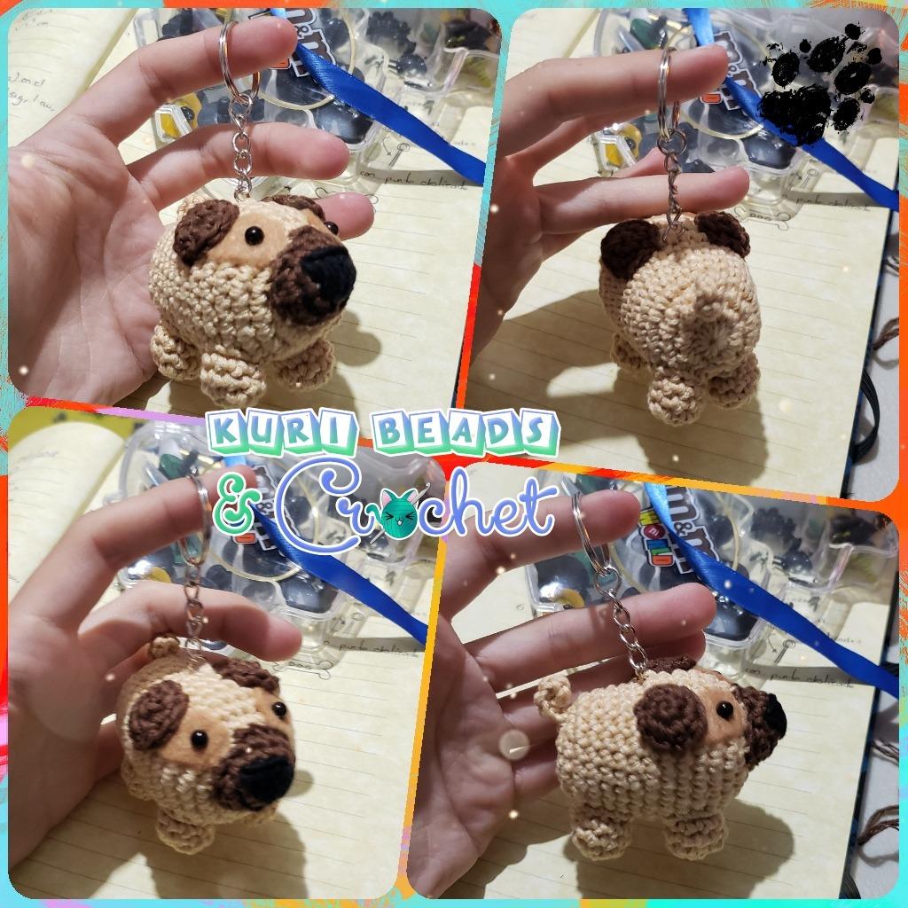 Crochet Baby Pug Amigurumi - ilove-crochet | 1024x1024