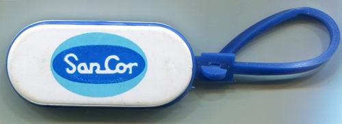 llavero plastico publicidad lacteos sancor
