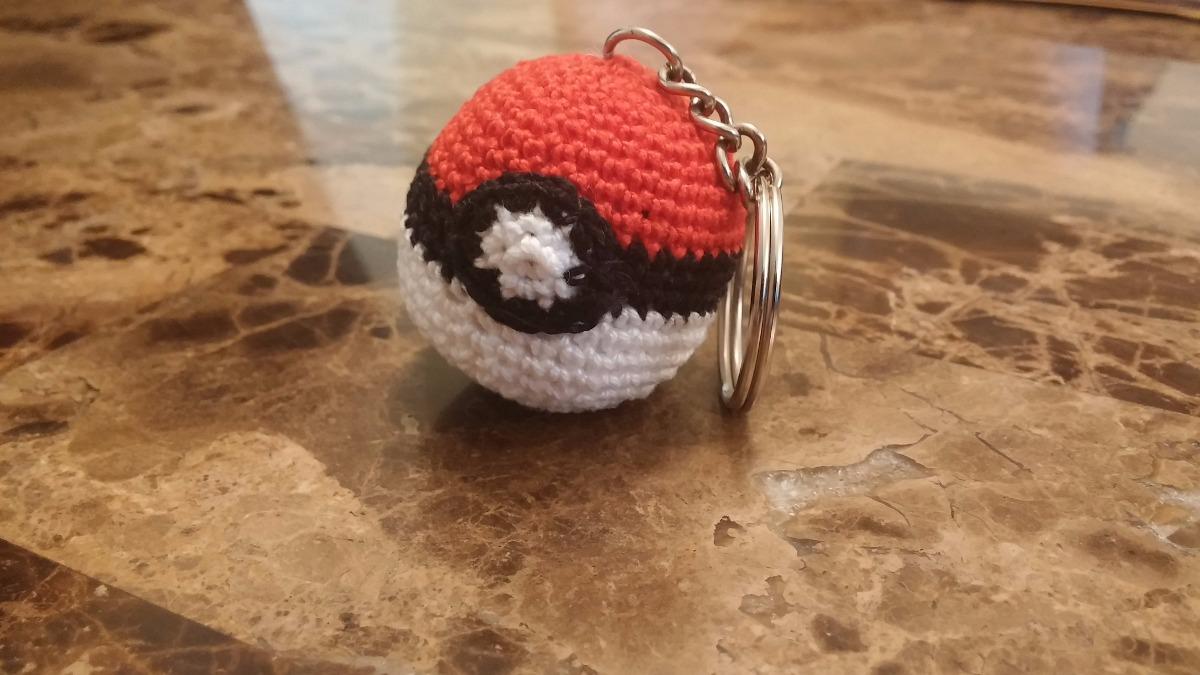 Llavero Pokebola Pokemon Tejido Al Crochet Amigurumi | Facebook | 675x1200