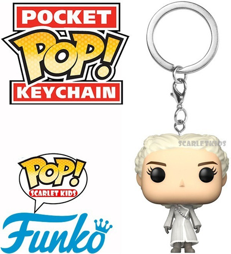 llavero pop game of thrones daeneris keychain scarlet kids