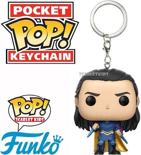 llavero pop loki thor ragnarok funko pocket pop keychain