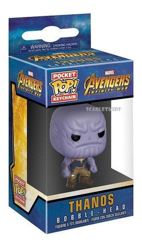 llavero pop thanos avengers infinite war funko pocket pop!