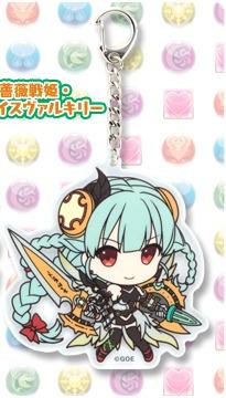 llavero puzzle & dragons pugyu kore: valkyrie original anime