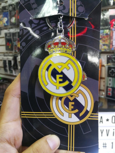 llavero real madrid futbol club
