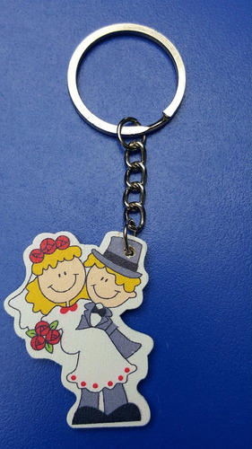 llavero recuerdo novios, souvenir matrimonio + bolsa + tarje