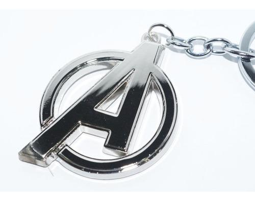 llavero regalo avengers logo marvel colección