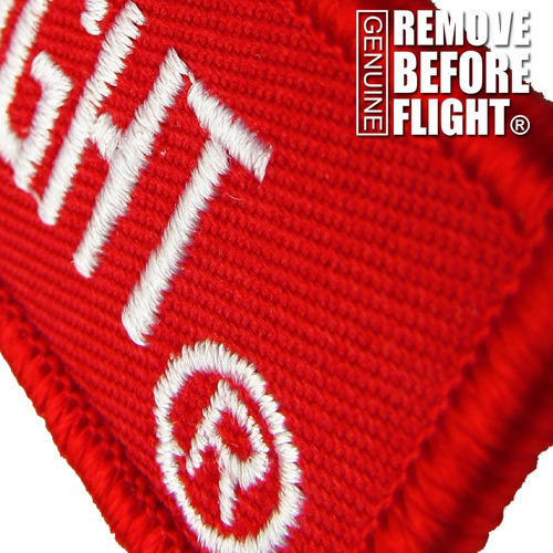 llavero  remove before flight ®