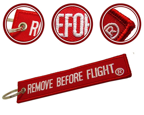 llavero  remove before flight ® & pendulo flight crew