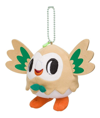 llavero rowlet pokemon time