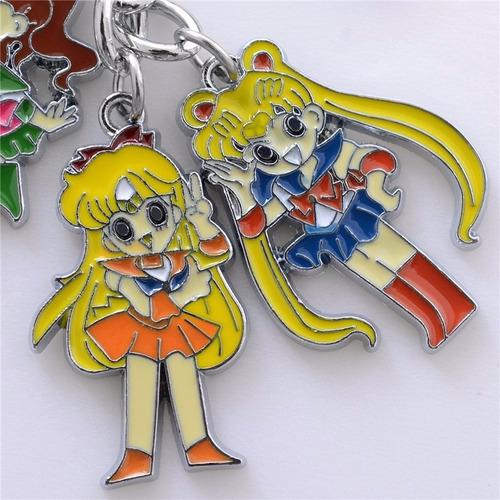 llavero sailor moon anime de colección o para regalo