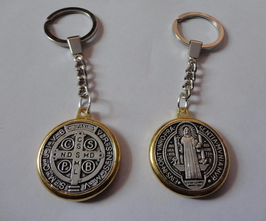 328b4d48445 llavero san benito (santo protector). Cargando zoom.