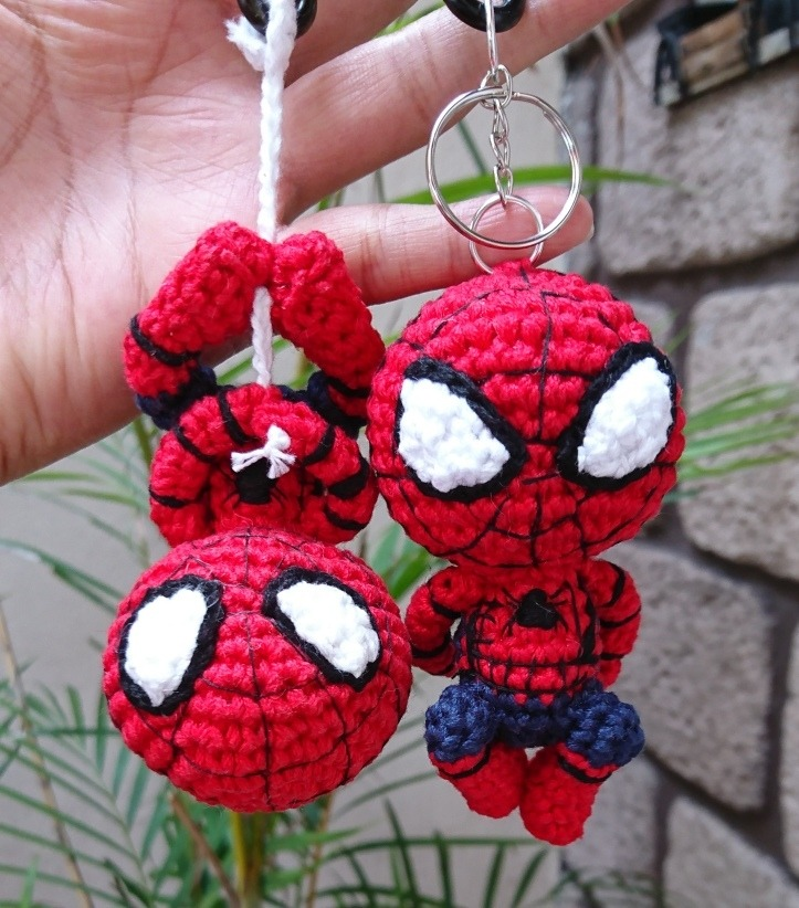 Spiderman Crochet Pattern - Amigurumi Doll Tutorial - Crochet News | 822x723