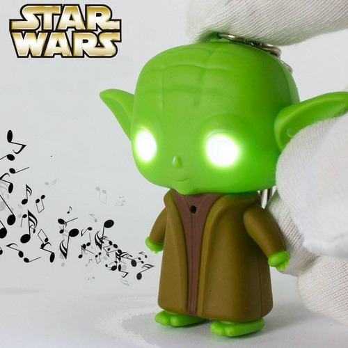 llavero star wars - yoda  bb8 stormtrooper- darth vader