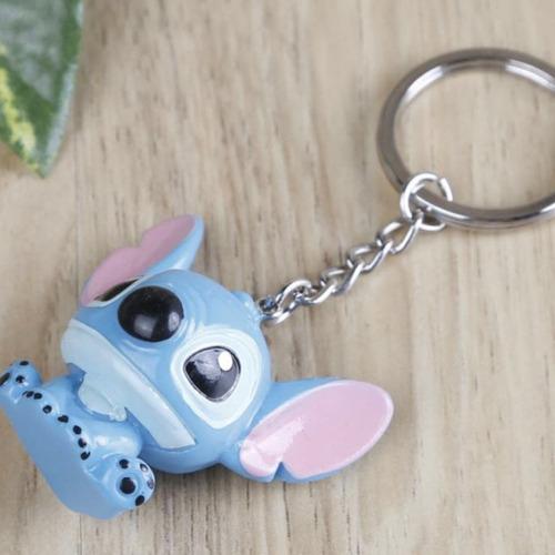 llavero stitch sentado cute kawaii lilo plastic envio gratis