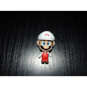 Llavero Super Mario Bros Blanco Cabezon Nintendo Geek Fire