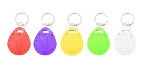 llavero tag rfid 125khz programables proximidad acceso color