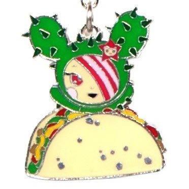 llavero tokidoki sandy taco metalico keychain