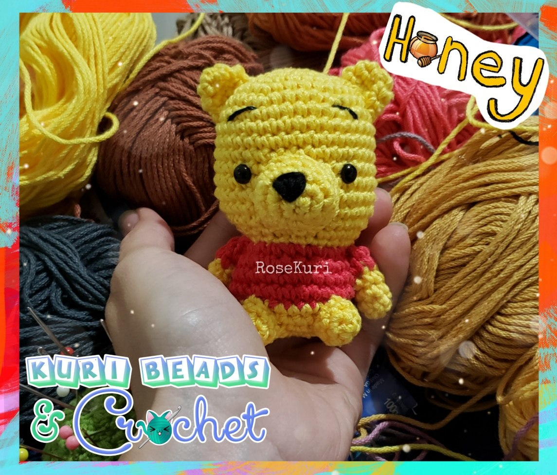 Llavero Winnie Pooh Amigurumi Tejido A Crochet 18000 En Mercado