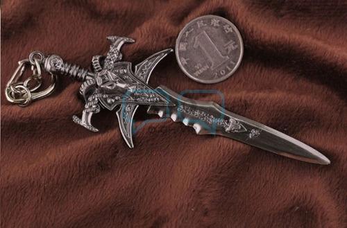 llavero world of warcraft 10cm basado en videojuego qchvr