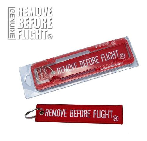 llavero y avión  remove before flight ® clasico