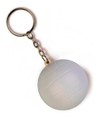 llaveros antiestrés x12 fútbol tenis voley rugby p/ souvenir