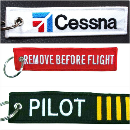 llaveros aviación piloto, remove before flight, cessna