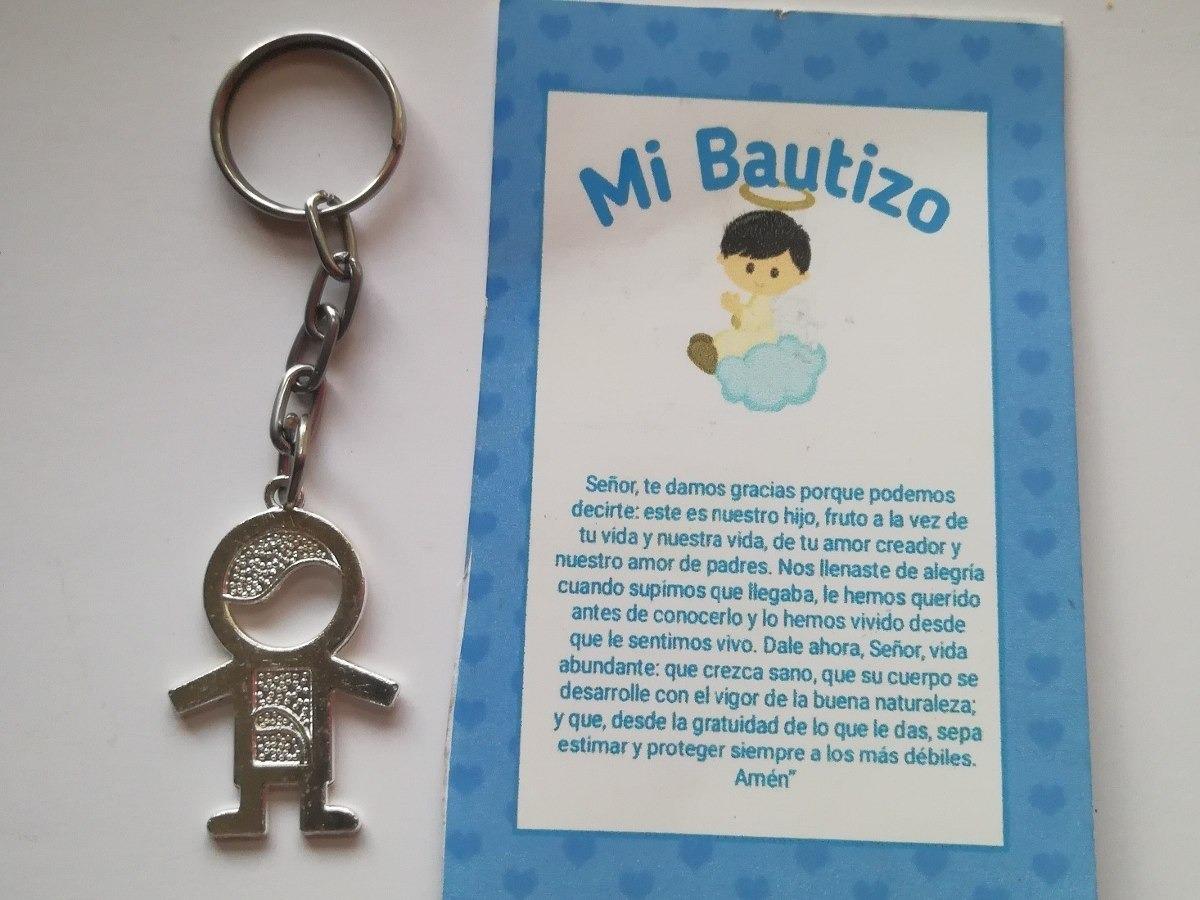 Llaveros Bautizo Nino.Llaveros Bautizo Nino 40 Pz