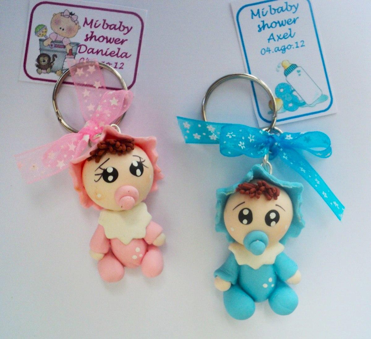 Llaveros bebes pasta francesa recuerdo baby shower regalos - Ideas para bebes ...