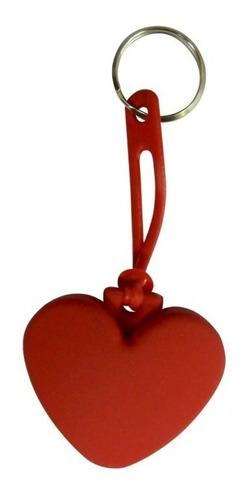 llaveros corazon en plastisol matrimonio