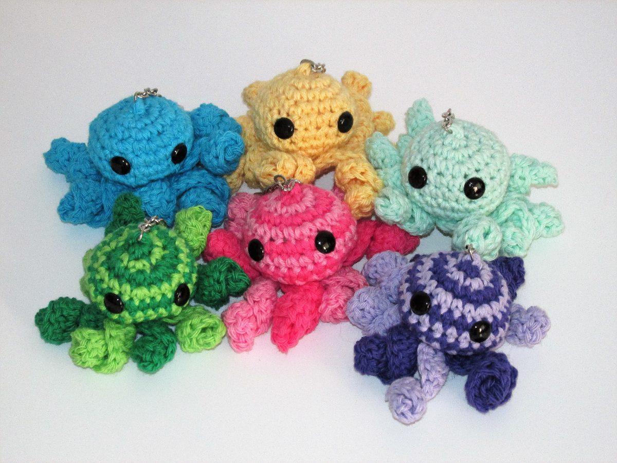 Llaveros Crochet Frida Buho Sol Arcoiris Varios Modelos - $ 80,00 en ...