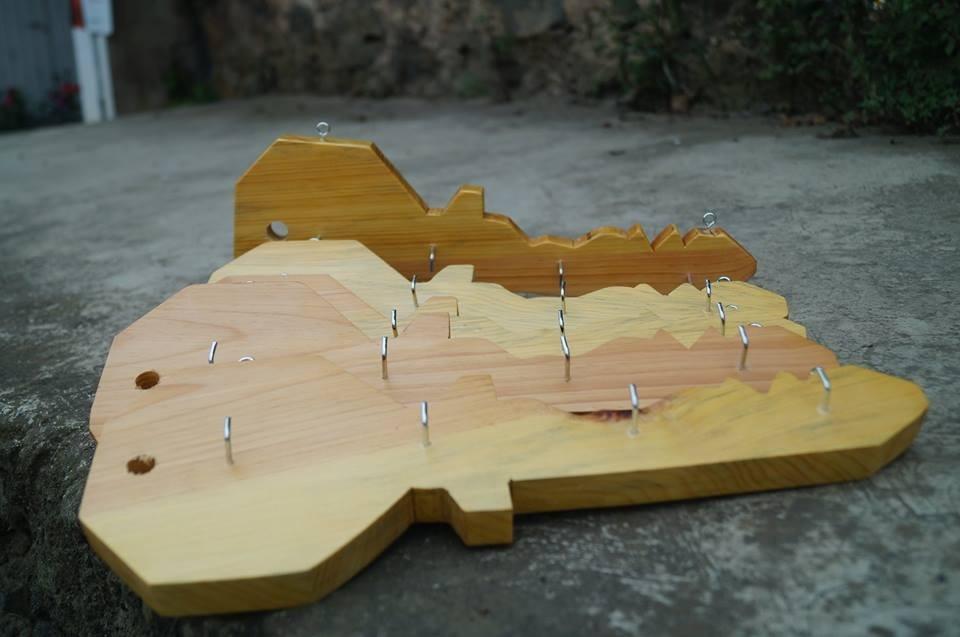 Llaveros de madera para colgar llaves tipo guitarra o llave en mercado libre - Para colgar llaves ...