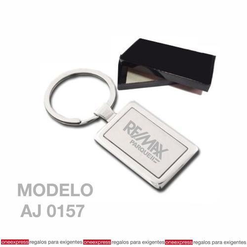 llaveros de metal con grabado laser personalizado o con logo