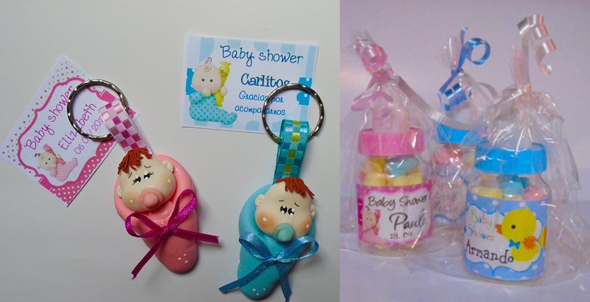 Baby Shower Recuerdos Economicos ~ Llaveros economicos recuerdo baby shower bautizo en pasta