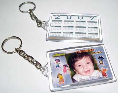 llaveros en acrilico cristal 6 x 4 25 unidades souvenir foto