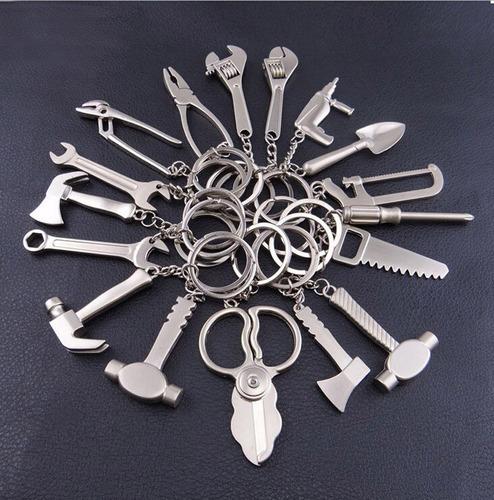 llaveros exclusivos de herramientas  pack de 12  ( surtidos)