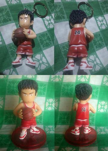 llaveros figuras slam dunk shohoku basquetball