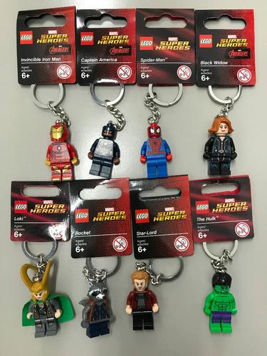 llaveros lego star wars - dc y marvel super heroes