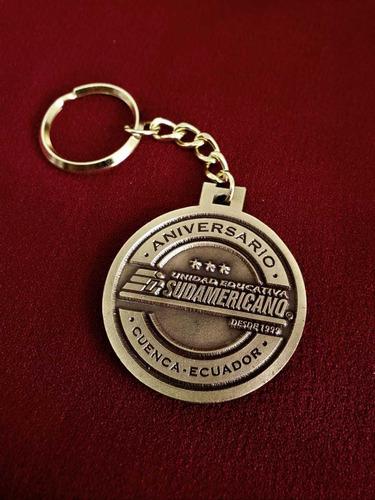 llaveros personalizados empresariales. su logo en metal