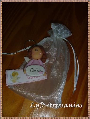 llaveros souvenirs bautismo nacimiento comunión confirmación