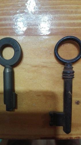 llaves antiguas de coleccion
