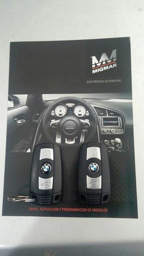 llaves codificadas bmw & mini cooper - telemandos originales